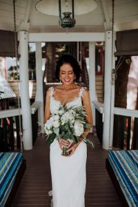 Tina Kristen Wedding - Gold Coast Bridal Hair and Make Up