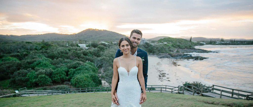 Tina Kristen Wedding - Gold Coast Bridal Hair and Make Up